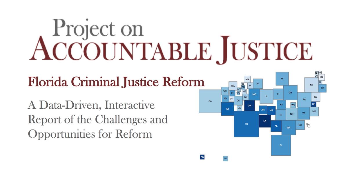 Florida Criminal Justice Reform